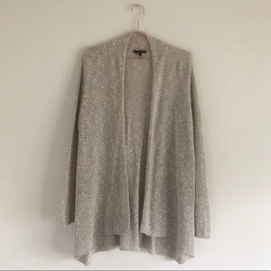 Eileen Fisher | Open Knit Linen Blend Cardigan